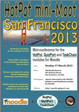 HotPot mini-Moot San Francisco 2013 poster (thumbnail)